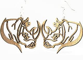 product image for Rhino Profile Earrings