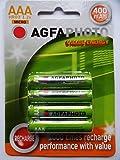 Agfa Piles rechargeables AAA 400mAh valeur énergétique