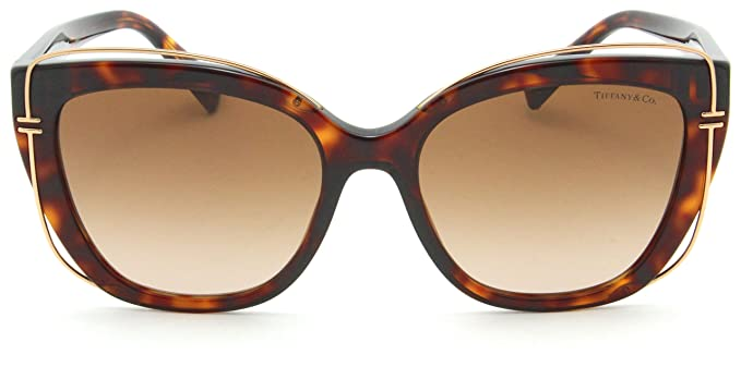 9ddd4f627f25 Image Unavailable. Image not available for. Color  Tiffany   Co. TF 4148  Women Cat-Eye Sunglasses ...