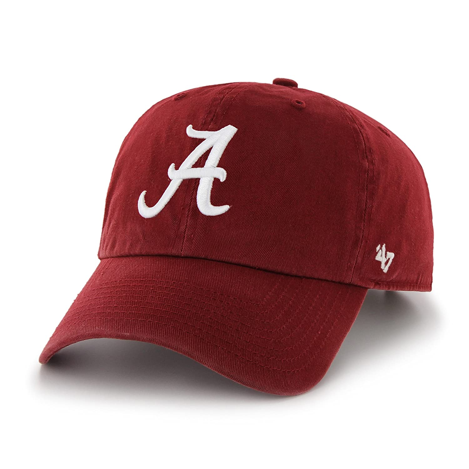 official photos 60dcf 28928 Amazon.com   NCAA Alabama Crimson Tide Men s Clean Up Cap, Razor Red 1, One  Size   Sports Fan Baseball Caps   Clothing