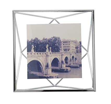 Amazon.com - Umbra Prisma 4 x 4 Picture Frame - Floating Wall or ...