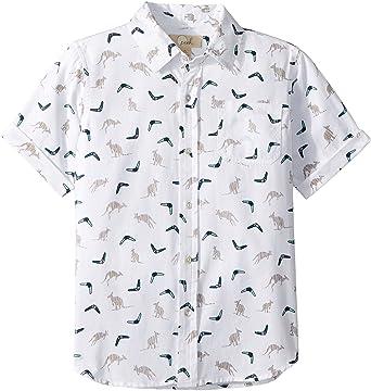 9f6a8a7de Baby Boy's Kangaroo Shirt (Toddler/Little Kids/Big Kids) Ivory 3T: Clothing