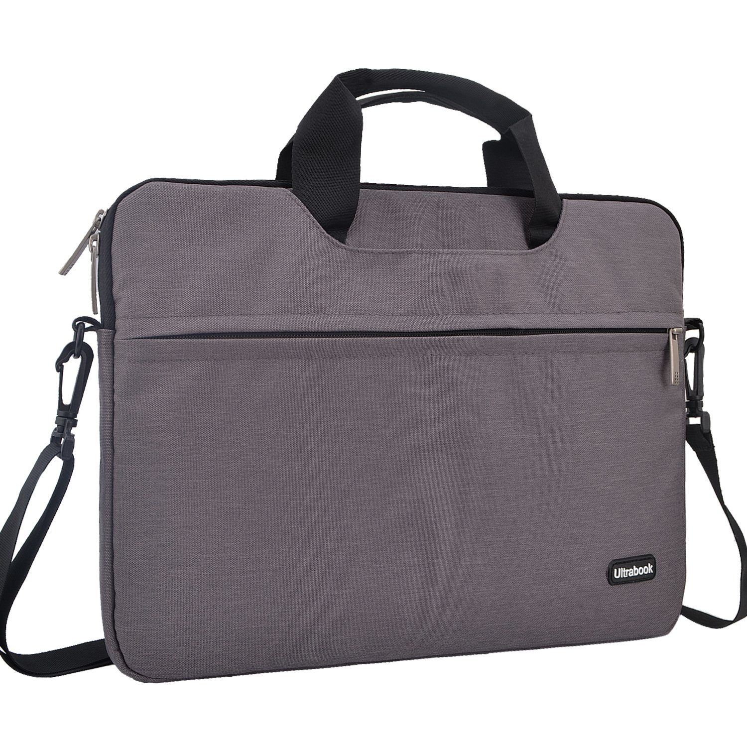 13.3 inch Laptop Shoulder Bag, FOPATI Laptop Sleeve for 12-13.3 Inch Notebook, Macbook Air 13/iPad Pro/Surface Book/Acer ASUS Dell 13'' Chromebook Computer Carrying Case Protective Bag Messenger