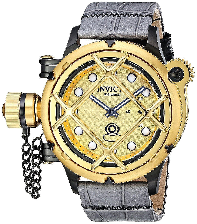 [インヴィクタ]Invicta 腕時計 Russian Diver Analog Display Mechanical Hand Wind Two Tone Watch 16358 メンズ [並行輸入品] B00XGW0QLM
