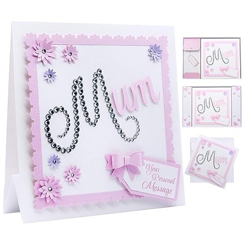 Personalised Mum Birthday Card Mother's Day Card Mummy Mom Nan Nanny