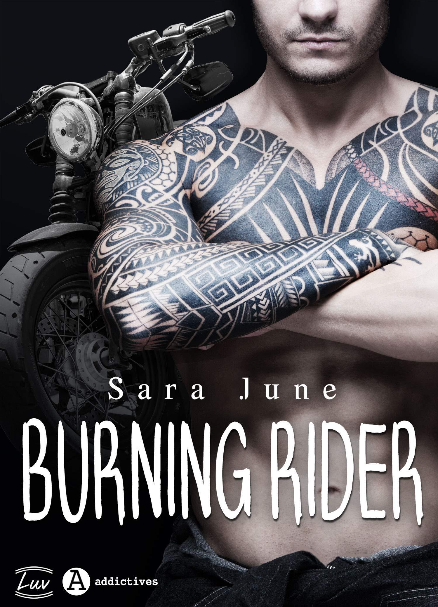 Burning Rider por Sara June