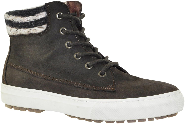 JJ Footwear - Botas de Piel para mujer36 EU Espresso Wax Nubuck
