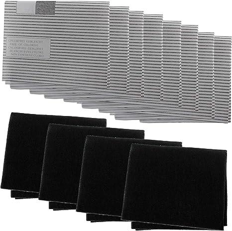 Spares2go - Kit de filtro de grasa para campana extractora de cocina Diplomat/Hygena (8 grasas, 4 filtros de carbono): Amazon.es: Grandes electrodomésticos