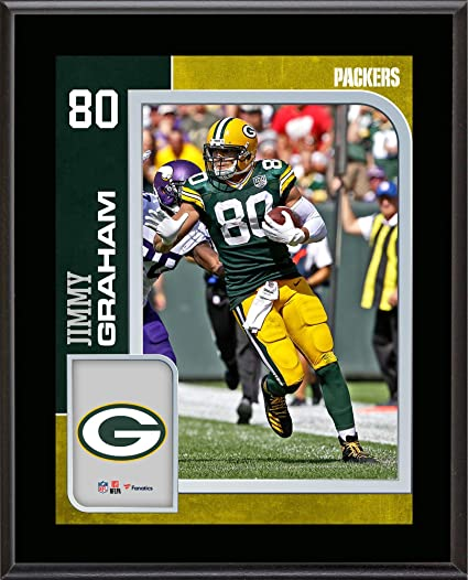 2417998b8 Jimmy Graham Green Bay Packers 10.5 quot  x 13 quot  Sublimated Player  Plaque - NFL Player