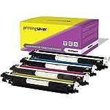 CE310A-CE313A LOT de 4 compatibles toner cartouches pour HP Color Laserjet Pro CP1025, CP1025NW, CP1020, 100 MFP M175A, M175NW, 200 MFP M275A, M275NW, TopShot LaserJet M275 imprimantes