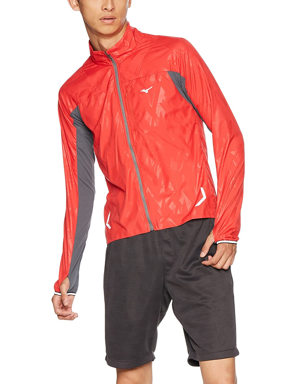 【誠実】 [ミズノ]ランニングウェア [メンズ] ウィンドブレーカーシャツ [メンズ] メンズ B004SKSM12 メンズ マーズレッド S B004SKSM12 S|マーズレッド, ながさきけん:ebe99d12 --- nutriqualy.com