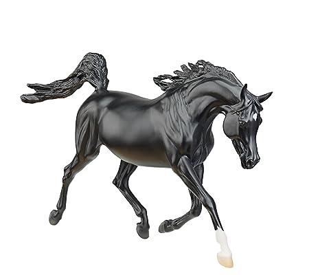 05f3b3b39e2b Amazon.com  Breyer Traditional Rhapsody in Black Horse Toy Model (1 9  Scale)  Toys   Games