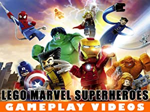 Amazon co uk: Watch Clip: LEGO Marvel Video Gameplay | Prime