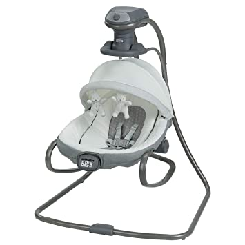54b2fdfb9 Amazon.com : Graco Duet Oasis with Soothe Surround Baby Swing, Davis : Baby