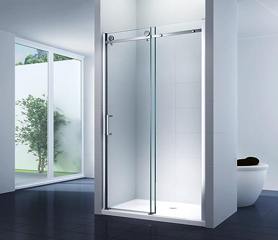 nichos para puerta deslizante Sistema ducha puerta Mampara ...
