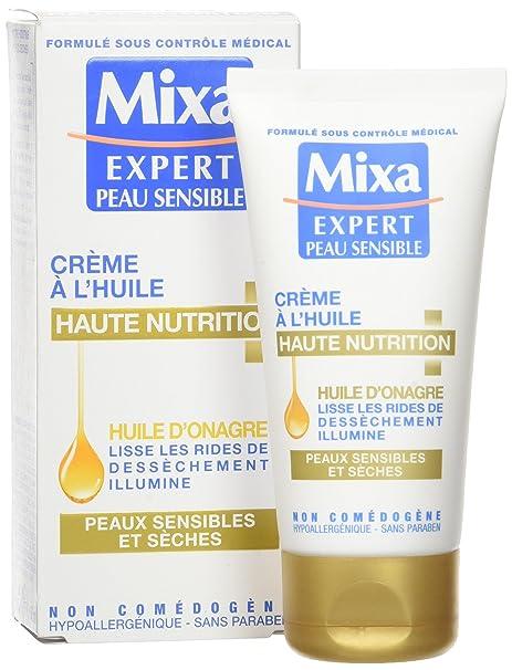 Mixa Experto Piel Sensible 50ml Crema Nutritiva con Aceite de Onagra