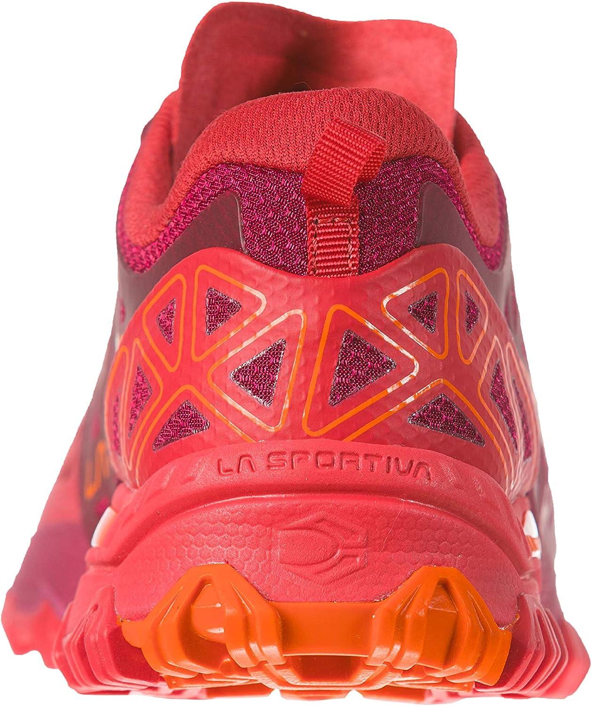 La Sportiva Women's Bushido II Running Shoe Beet / Garnet