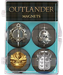 Crown /& Thistle Embroidered Patch Diamond Comic Distributors JAN160185 Dark Horse Deluxe Outlander