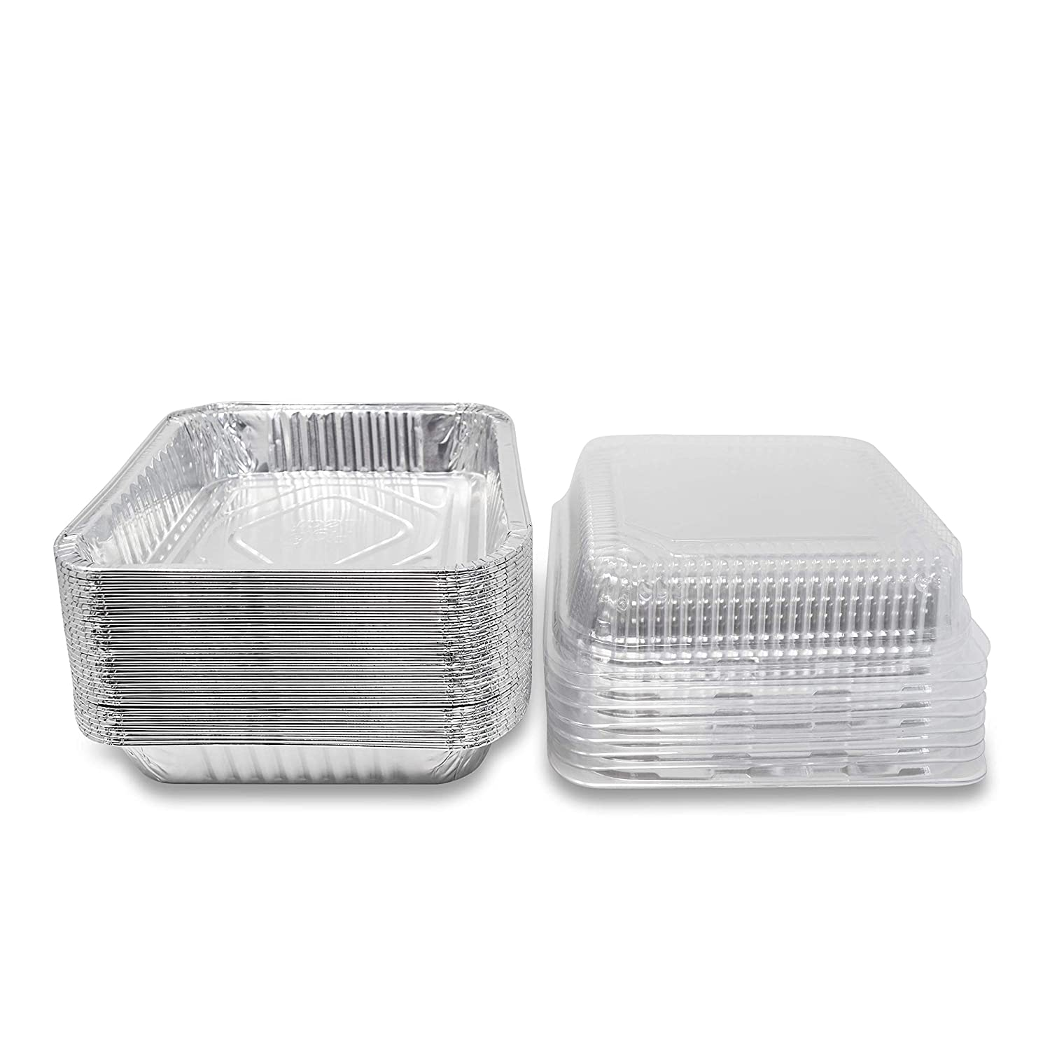 """Fig & Leaf (35 Pack) Square Baking Pans with LIDS 