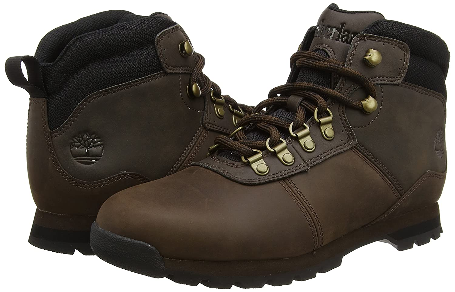 Timberland Men's Euro Sprint FTB_Euro Crest Cold Lined Classic Boots Short  Length Brown Size: 10: Amazon.co.uk: Shoes & Bags