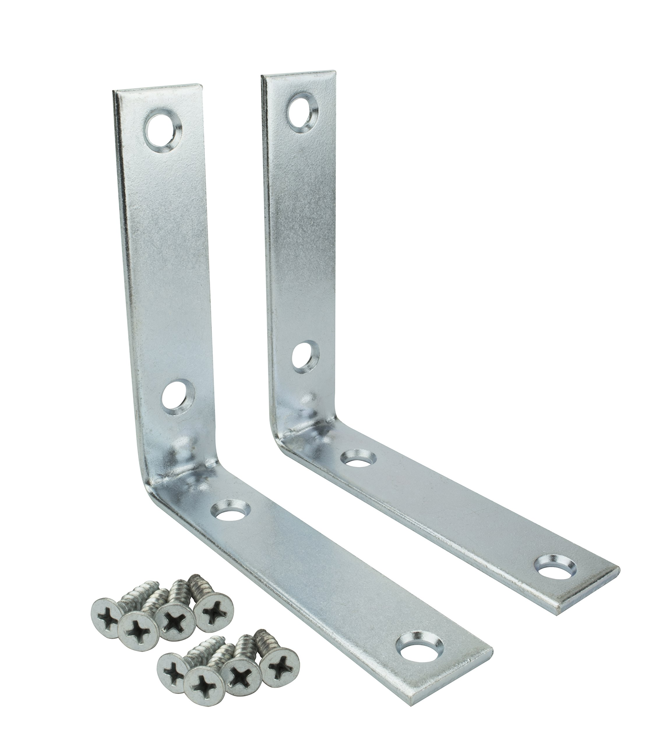Specialty Hardware Corner Brace 4 inch Zinc Plated 48pcs