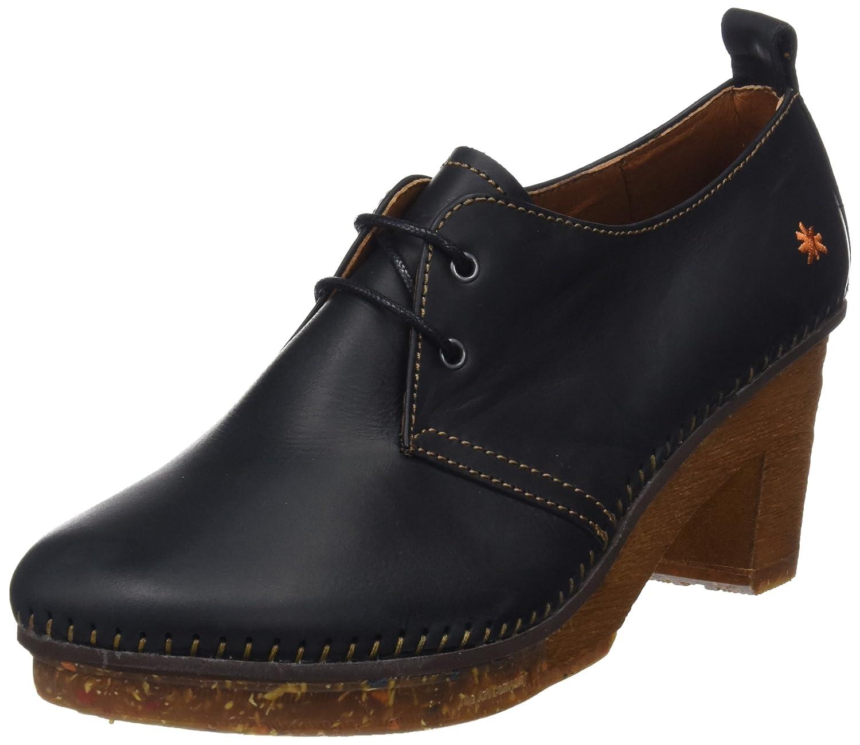 negro (negro negro) Art Rustic, zapatos de tacón con Punta Cerrada para damas
