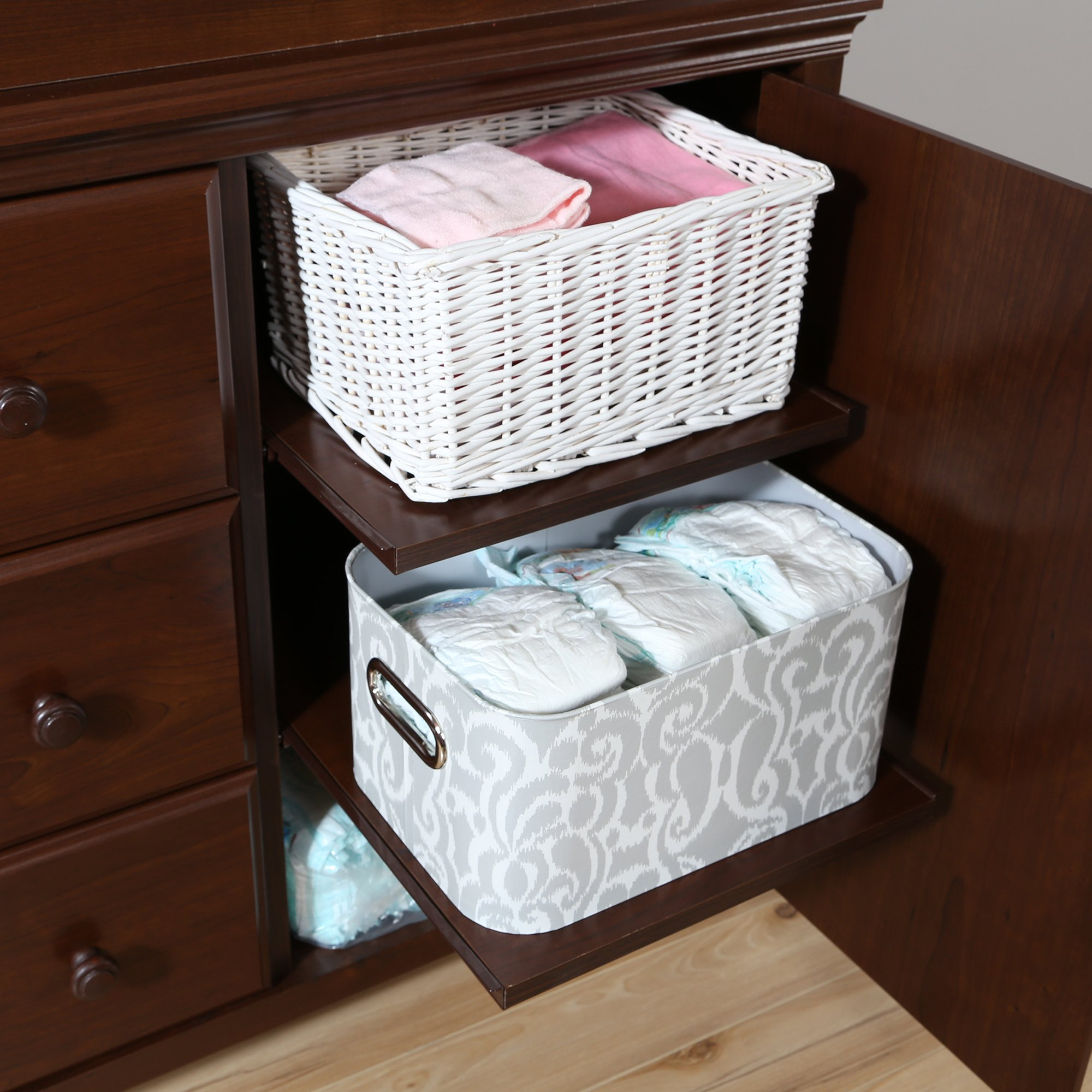 South Shore Cotton Candy Changing Table with Removable Changing Station, Sumptuous Cherry by South Shore (Image #7)