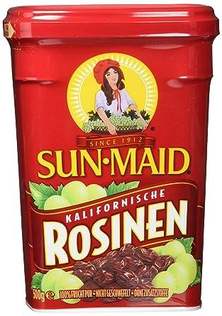 Seeberger Sun Maid Rosinen, 8er Pack (8 x 500 g Dose): Amazon.de ...