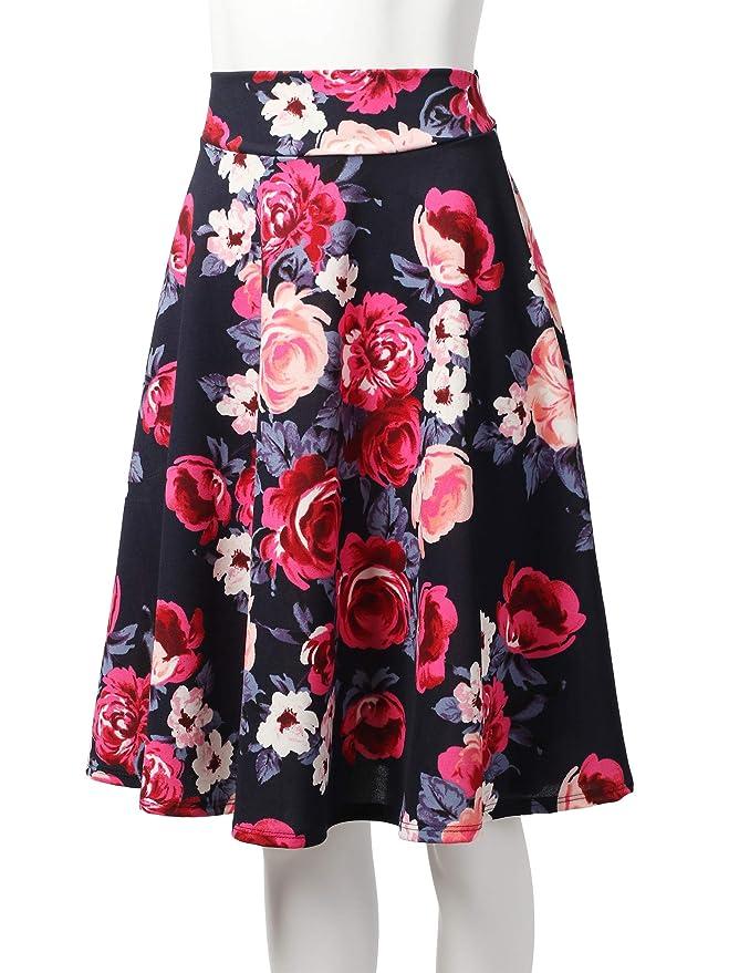 78ee9b6e12 Amazon – SSOULM Women's High Waist Flare A-Line Midi Skirt just $13.99 –  $14.99! Multiple Varieties, Sizes S-3XL