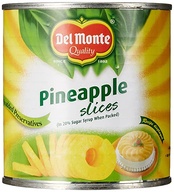 Delmonte Pineapple Slices 439g Amazon Grocery Gourmet Foods