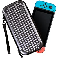 Aukey Portable ABS Hard Shell Console Carry Case for Nintendo Switch (PC-A1)