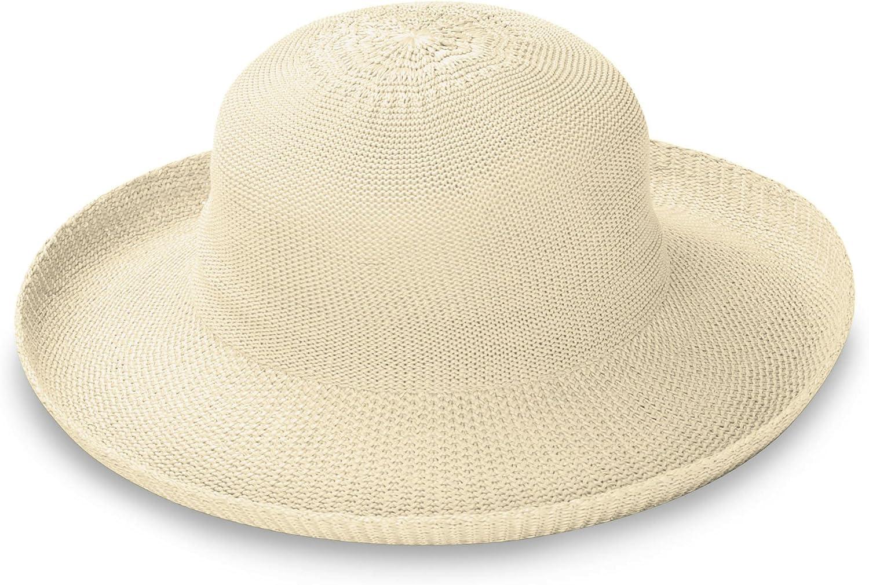 Ivory Colour Emthunzini hats Breton Sun Hat
