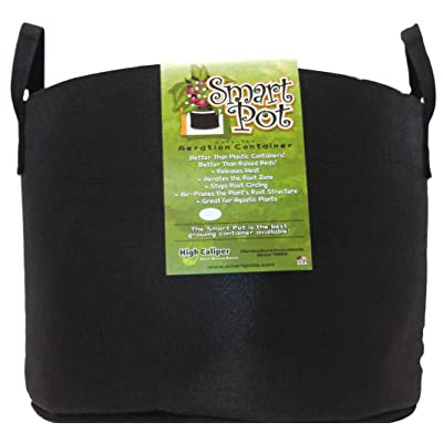 Smart Pots RC20H 14020 Fabric Pot, 20-Gal, Black: Garden & Outdoor