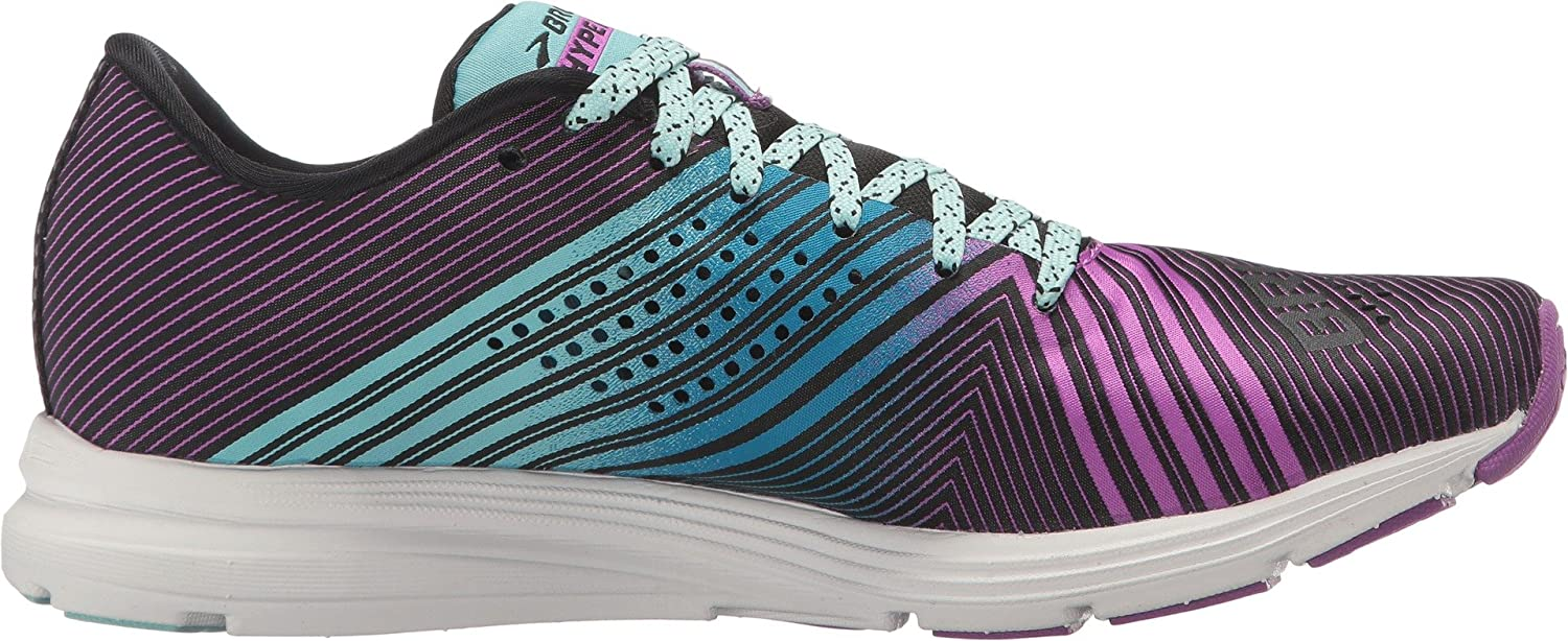 Brooks Womens Hyperion B01A9NJ97C 10 B(M) US|Black/Dewberry/Aruba Blue