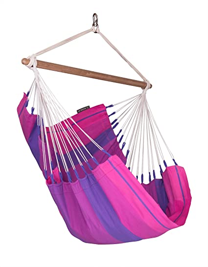 Delicieux LA SIESTA Orquídea Purple   Cotton Basic Hammock Chair