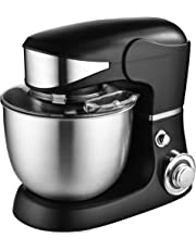 Venga! VG M 3014 Food Processor and Mixer with Bowl - 1000 W Motor, Plastic, Stainless Steel, 5 L, Black