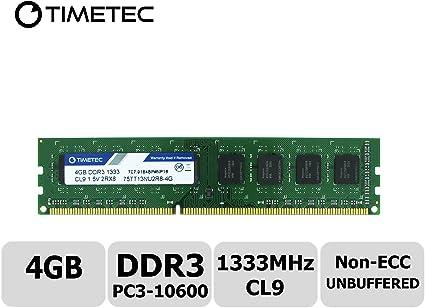 8 G 8GB 2X 4GB DDR3-1333MHz PC3-10600 240pin DIMM Desktop RAM Memory NON-ECC CL9