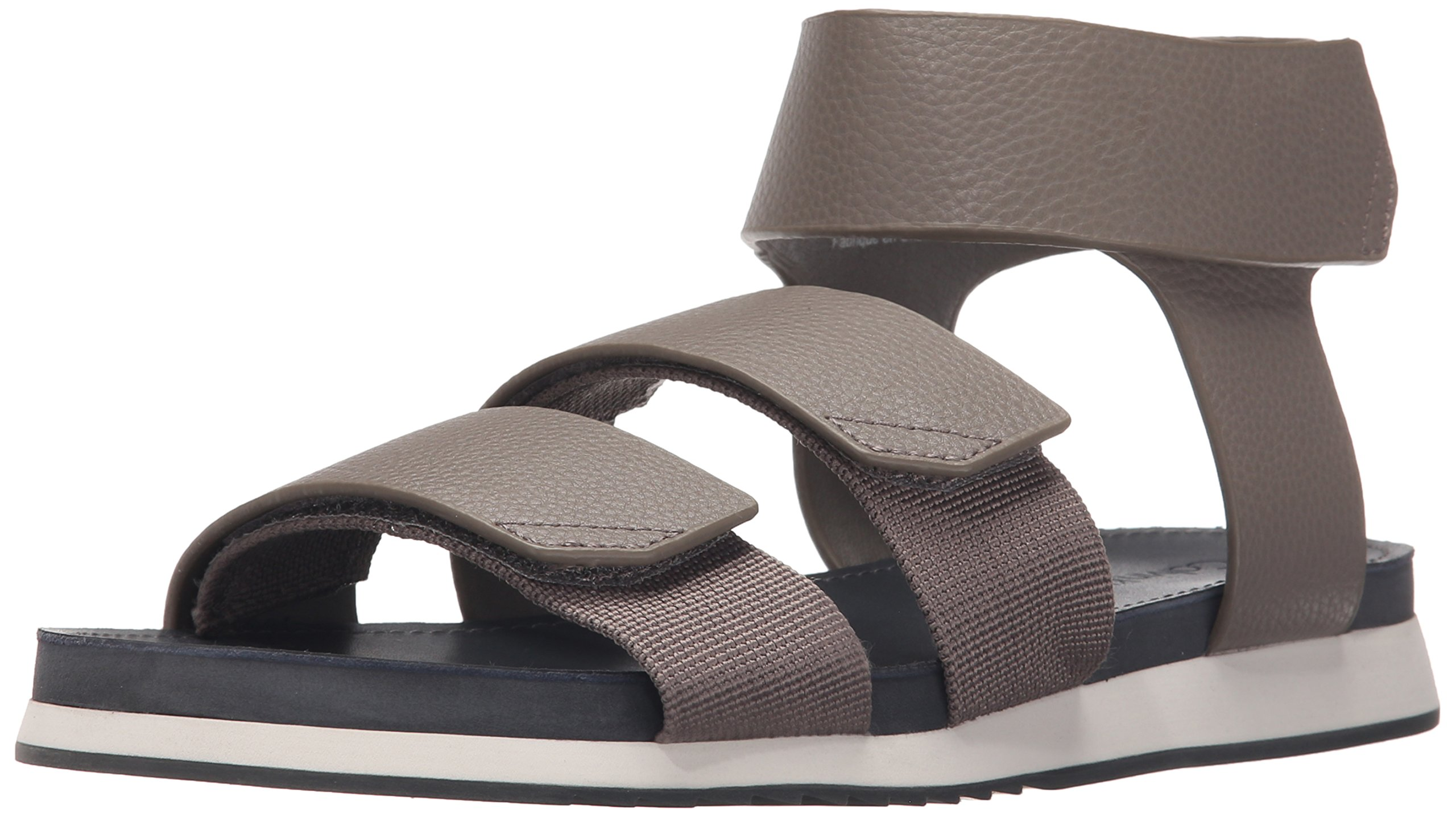 Calvin Klein Men's Colton Webbing Dress Sandal, Toffee, 9.5 M US