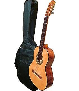 MARCE CHARRITA - Guitarra Clasica española de estudio +Funda (caja ...