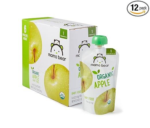 Mama Bear - Bolsa de comida para bebé: Amazon.com: Grocery ...