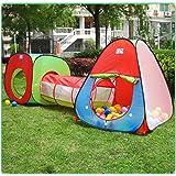Intérieur Enfants Maisons et Tentes de jardin,VicPow De plein air Tente de Jeu pour Maison et Tunnel(Boules Non Inclus)