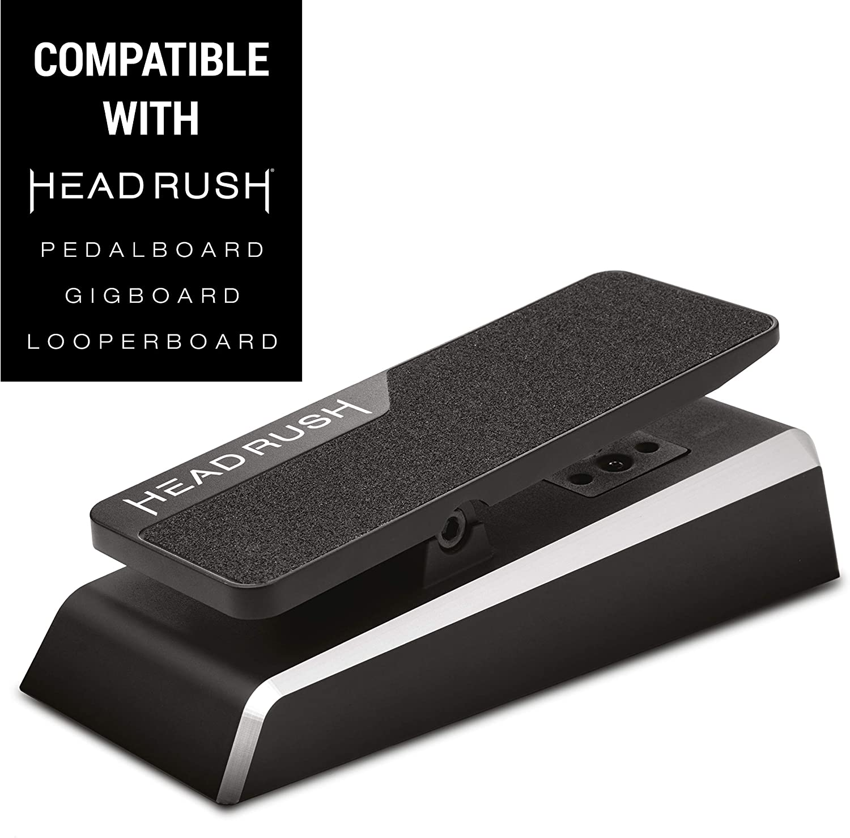 HeadRush expression pedal - Pedal de expresión para pedaleras Gigboard, Pedalboard y Looperboard con interruptor momentáneo
