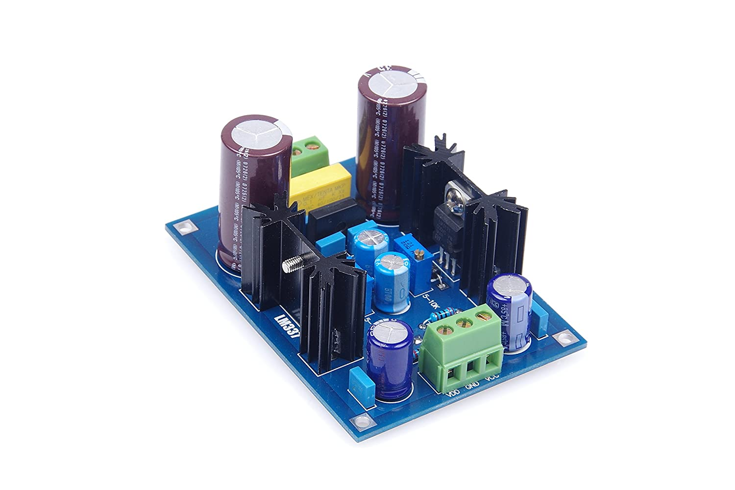 Knacro Lm317 Lm337 Adjustable Voltage Regulator Power Positive With Pnp Boost Supply Board 125v To 37v Dc Output Home Audio Theater