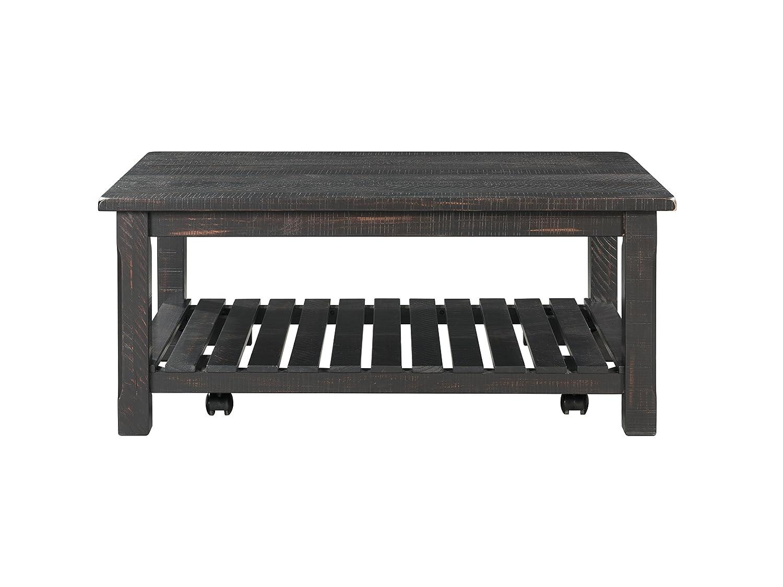 Amazon Com Martin Svensson Home 890222 Coffee Table Antique Black