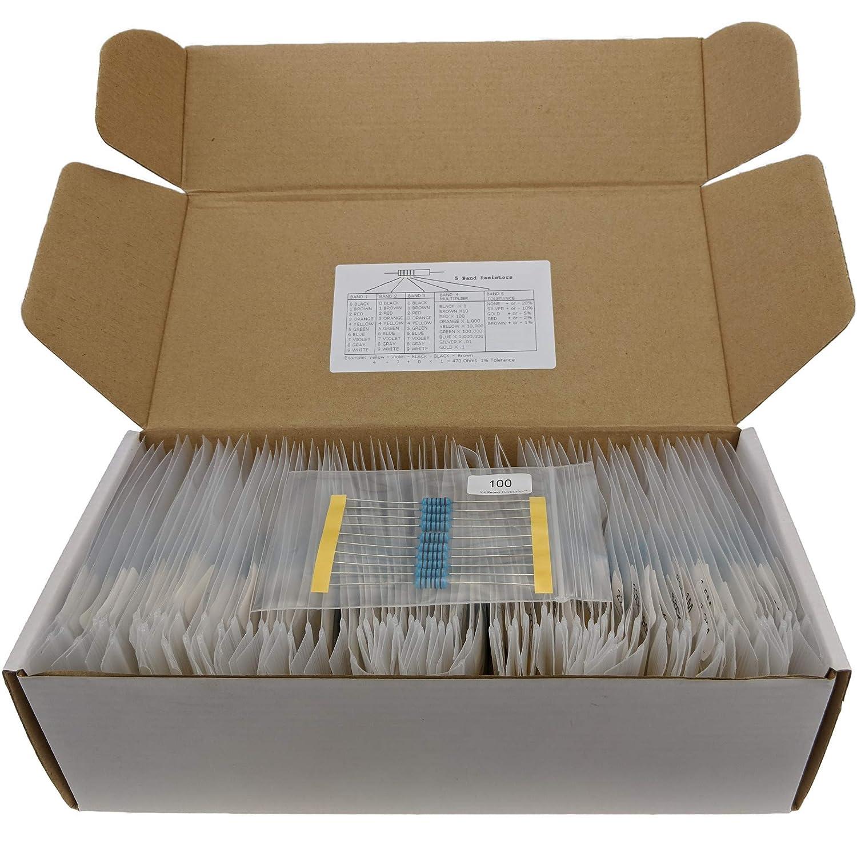 Joe Knows Electronics 1W 86 Value 860 Piece Resistor Kit