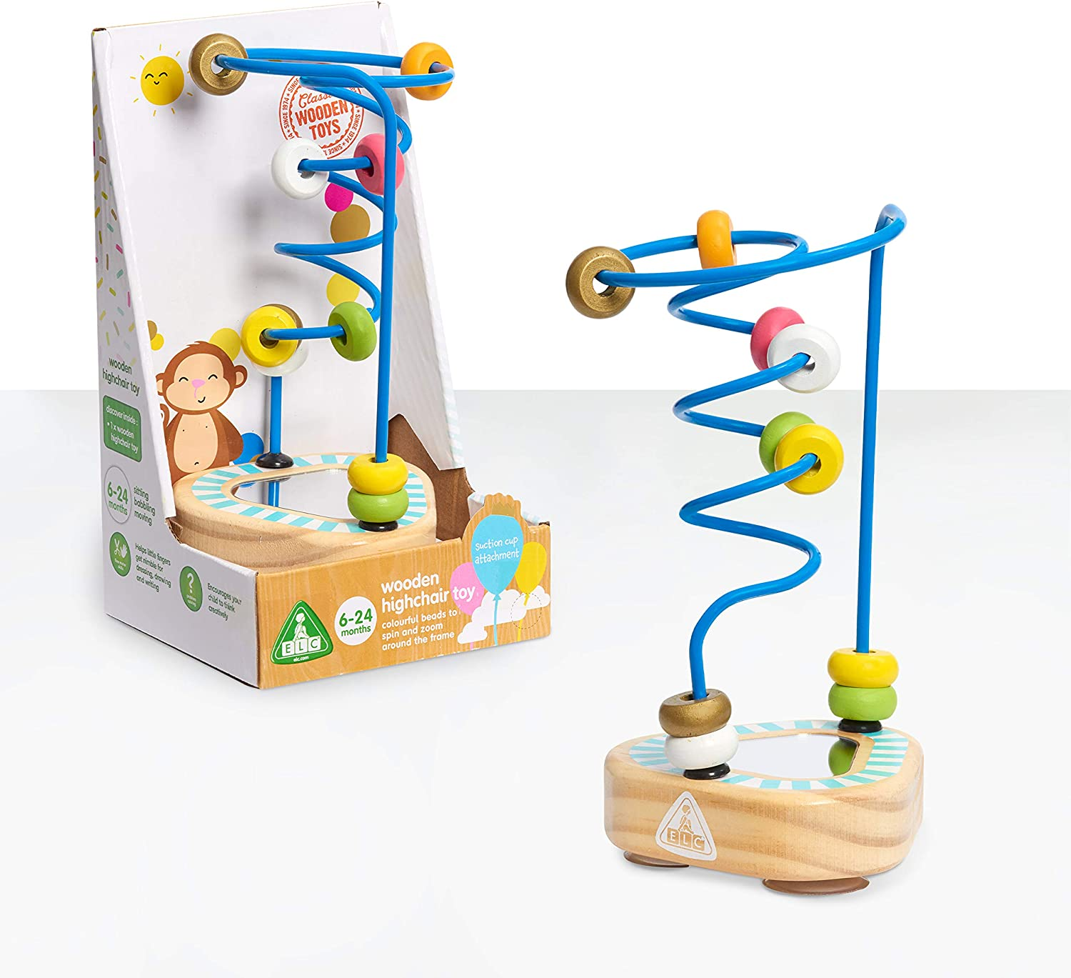 Early Learning Centre Wooden Highchair Toy Exclusive