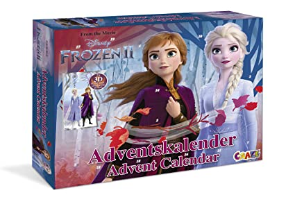 Frozen Christmas Special.Amazon Com Craze Premium Advent Frozen 2 2019 Toy Calendar