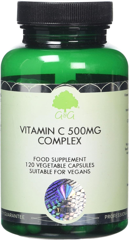 G&G Vitamins 500 mg Vitamin C Complex Capsules