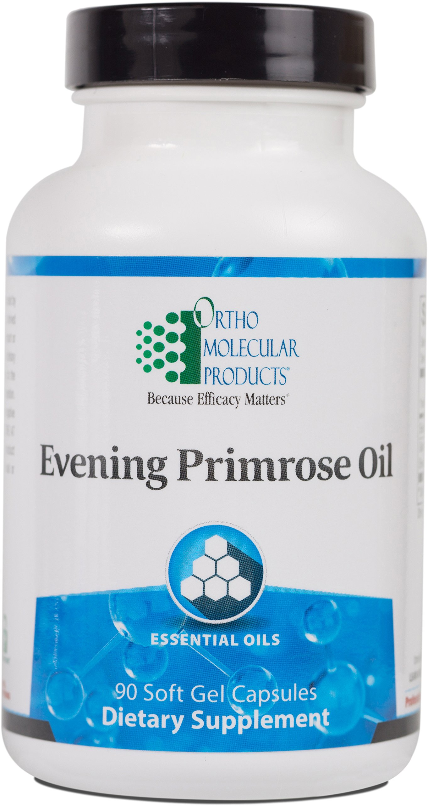 Ortho Molecular - Evening Primrose Oil - 1300 mg - 90 Soft Gel Capsules