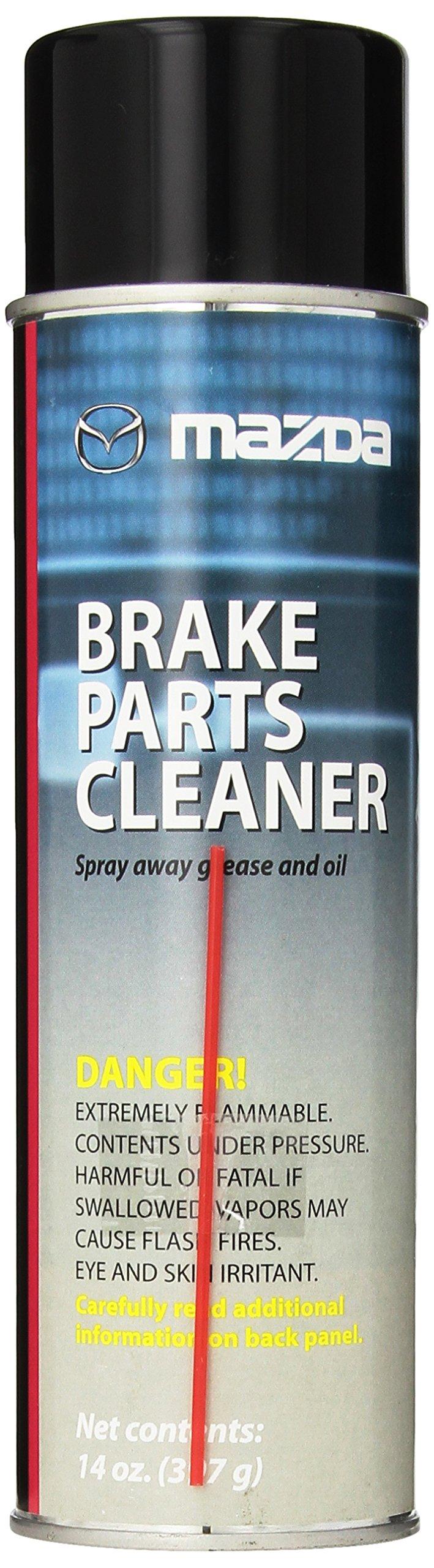 Mazda Genuine Fluid (0000-77-620E-03) Low VOC Non-Chlorinated Brake Parts Cleaner - 14 oz.